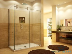 frameless bath screen midas glass contractor singapore