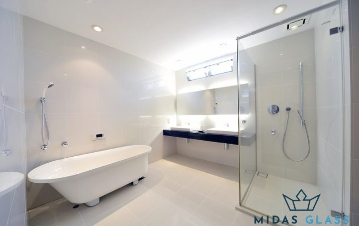 frameless shower enclosures midas glass contractor singapore