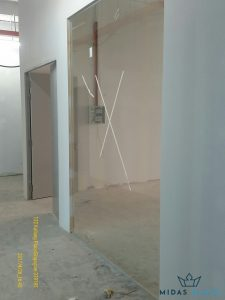 glass partition wall installation midas glass contractor singapore commercial kallang 1