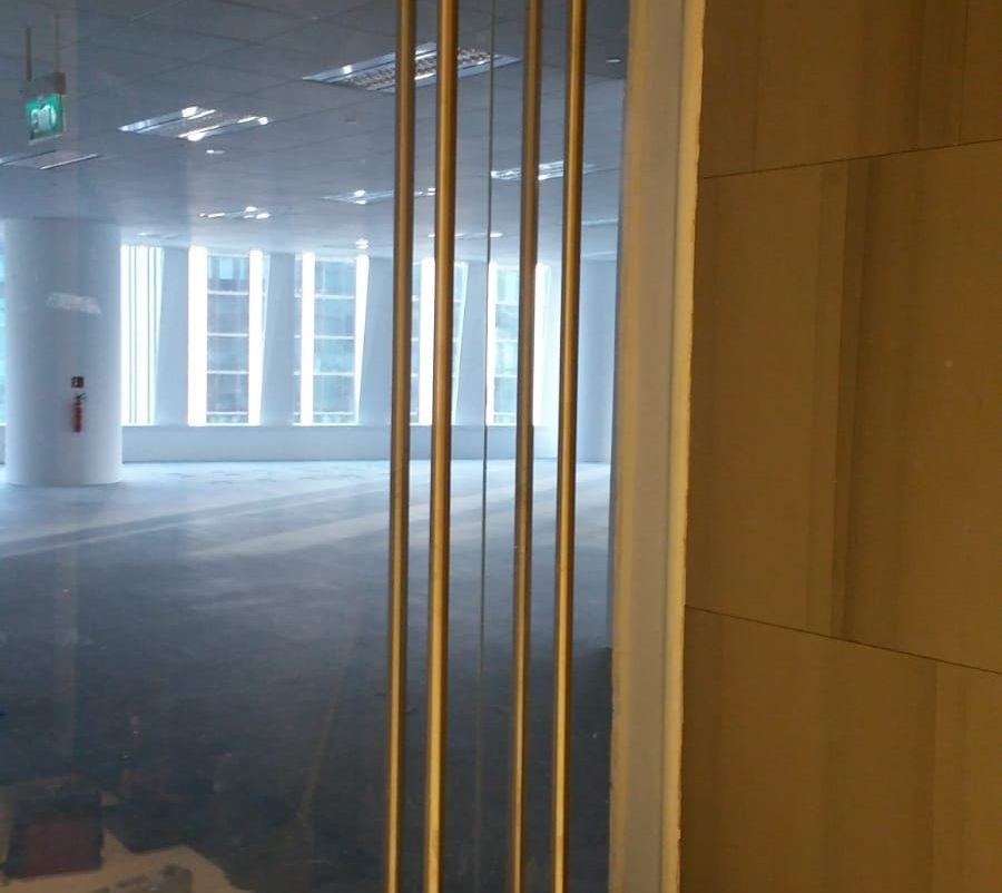 glass swing door installation midas glass contractor singapore commercial macpherson