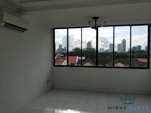 glass window installation midas glass contractor singapore condo bugis 7