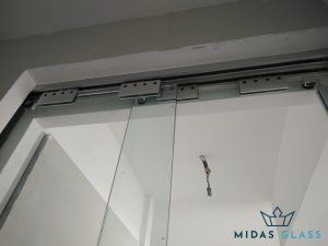sliding glass door installation midas glass contractor singapore hdb seng kang 2
