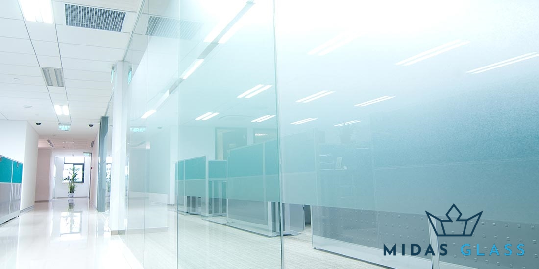 frosted sandblasted glass midas glass contractor singapore