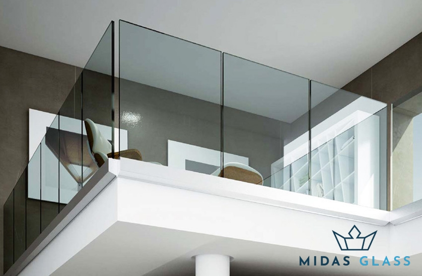 glass railing midas glass contractor singapore