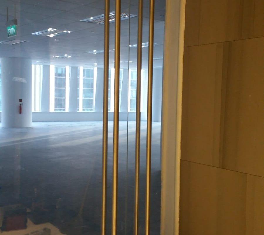 glass swing door installation midas glass contractor singapore commercial macpherson
