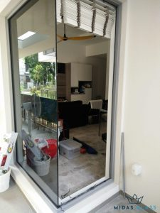 glass wall installation midas glass contractor singapore landed marine parade