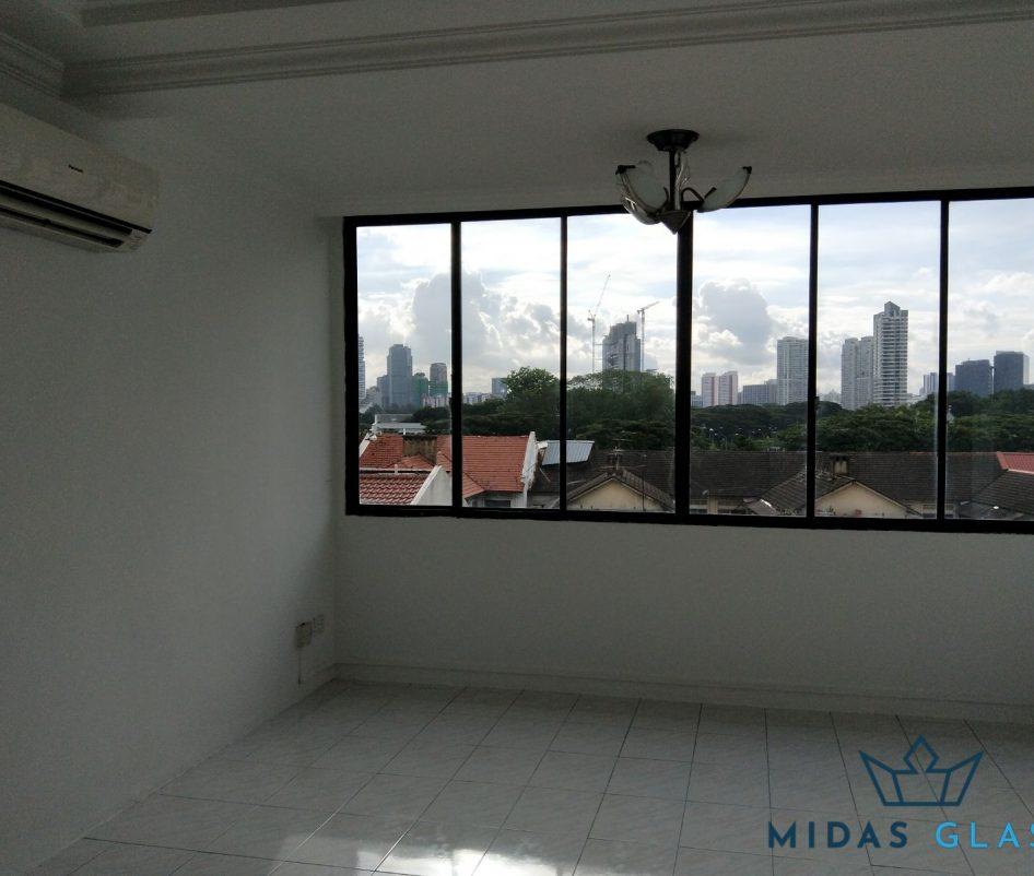 glass window installation midas glass contractor singapore condo bugis 7