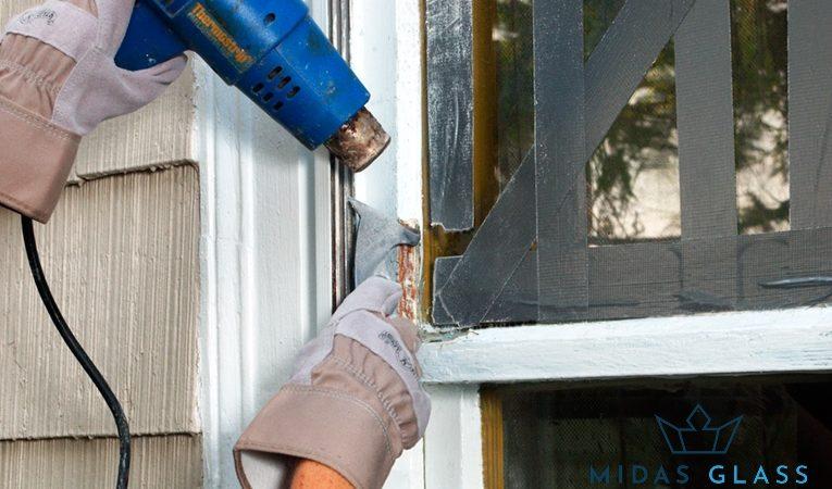 glazing work midas glass contractor singapore