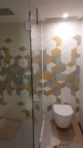 shower screen glass swing door midas glass contractor singapore landed newton