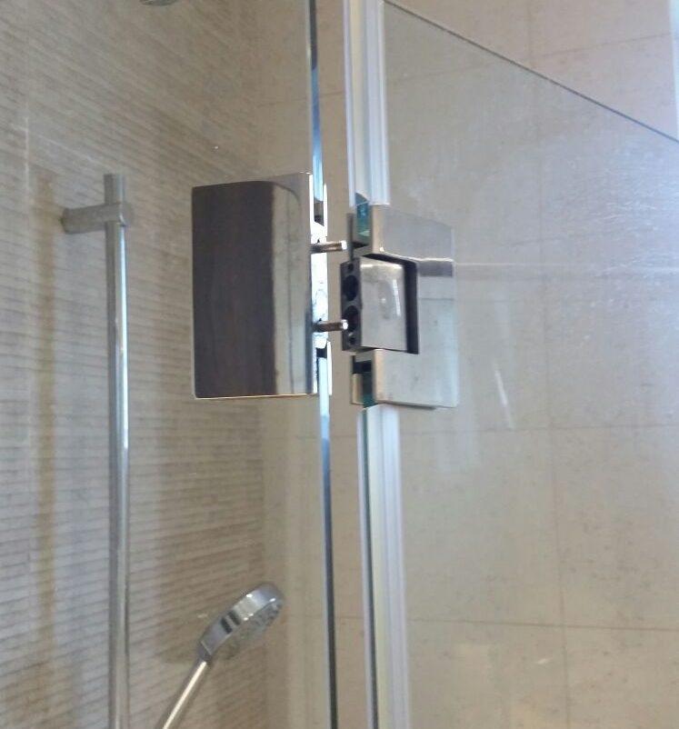shower screen glass swing door repair midas glass contractor singapore condo serangoon