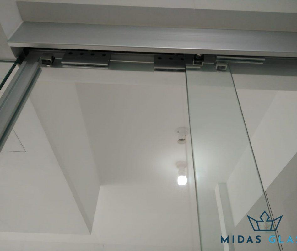 sliding glass door installation midas glass contractor singapore hdb seng kang