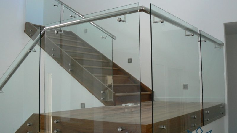 tempered glass railing systems midas glass contractor singapore