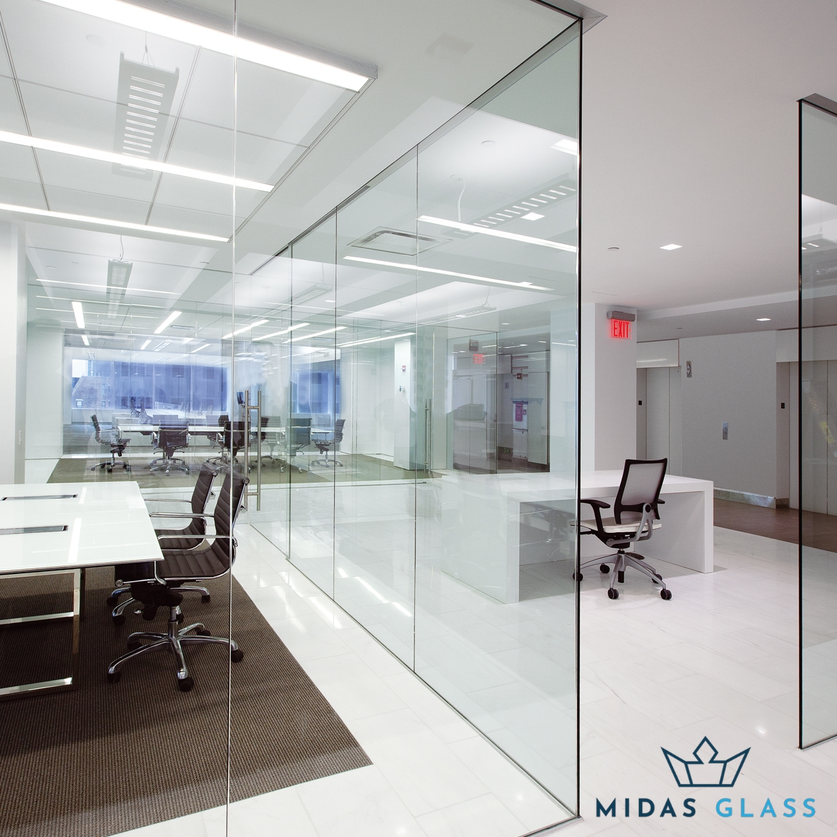 Clear Tempered Glass midas glass contractor singapore
